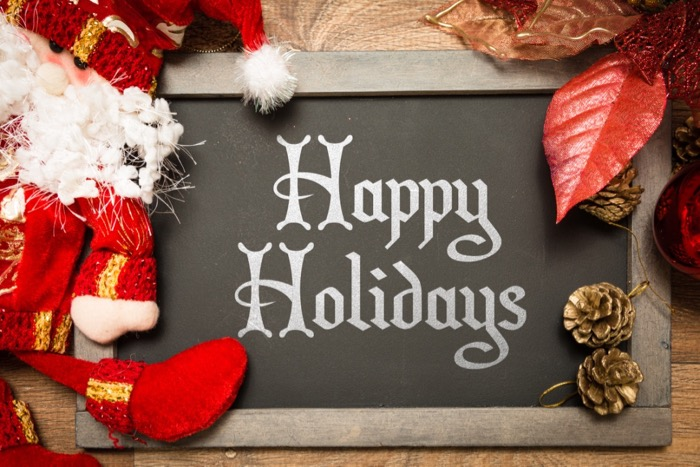 Happy Holidays from Salem Fitness